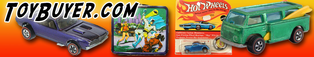 Toy Buyer Buys Redline Hot Wheels, Classic 1960's & 70's Toys