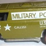Redline Hot Wheels Military Police Van