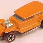 Redline Hot Wheels Buyer Orange Enamel