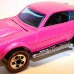 Redline Hot Wheels Buyer pink fluorescent enamel