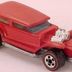 Hot Wheels Redlines red enamel